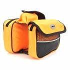 JOYTU Bike Bicycle Frame Pannier Front Tube Bag - Black + Orange