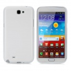 Protective TPU Back Case for Samsung Galaxy Note 2 N7100 - White