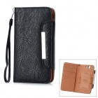 KALAIDENG Protective PU Leather Case for Sony Xperia Z L36i / L36h - Black