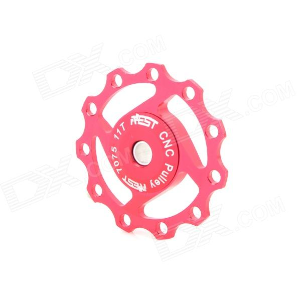 AEST YPU09A-13-04 Rear Derailleur Pulley - Red cnc parts aluminum pulley timing pulleys