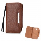 KALAIDENG Protective PU Leather Case for Samsung i9082 / i9080 - Brown