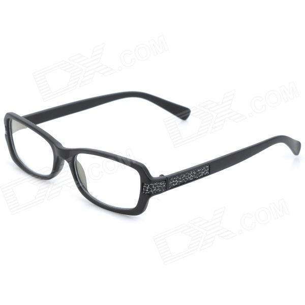 SENLAN M6271 Radiation Protection Resin Lens Glasses - Black велосипедные перчатки mai senlan m81013