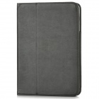 Sheep Skin Pattern Protective PU Leather Flip-Open Case w/ Card Slot for Ipad MINI - Black