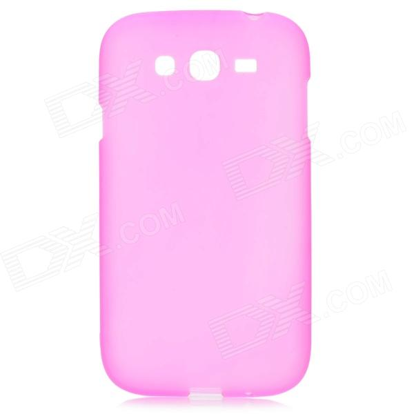Protective Frosted TPU Back Case for Samsung Galaxy Grand Duos i9082 - Deep Pink