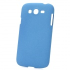 Ultrathin Protective Frosted PC Back Case for Samsung i9082 - Dark Blue