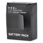 AHDBT-201 Replacement 3.7V 1050mAh Lithium Battery for GoPro HD Hero3 - Black