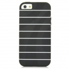 Fashion Protective TPU Back Cover Case for Iphone 5 - Black