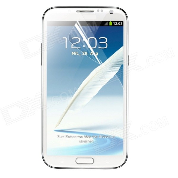 ENKAY Clear Screen Protector Film Guard for Samsung Galaxy Note II N7100 protective matte frosted screen protector film guard for nokia lumia 900 transparent