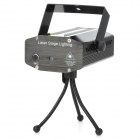 XL-03 4-in-1 50mW Green + 100mW Red Laser Stage Lighting Projector w/ Tripod - Black