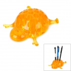 WL031 Turtle Style Creative Pen Holder - Yellow