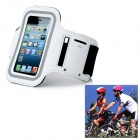 Outdoor Sports Gym Arm Band Armband Case for Samsung Galaxy S3 Mini i8190 - White