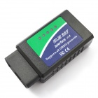 Wireless Bluetooth OBD2 Ferramenta de diagnóstico de carro para Notebook / PC / Smartphones - Verde + Azul (DC 12V)