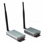 BADA 2.4GHz 3.5W 6-Channel Wireless Audio/Video AV Transmitter &amp; Receiver Kit (100V~240V AC) * EMS