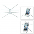 Spider Style Plastic Changeable Car Mount Cell Phone Holder - White