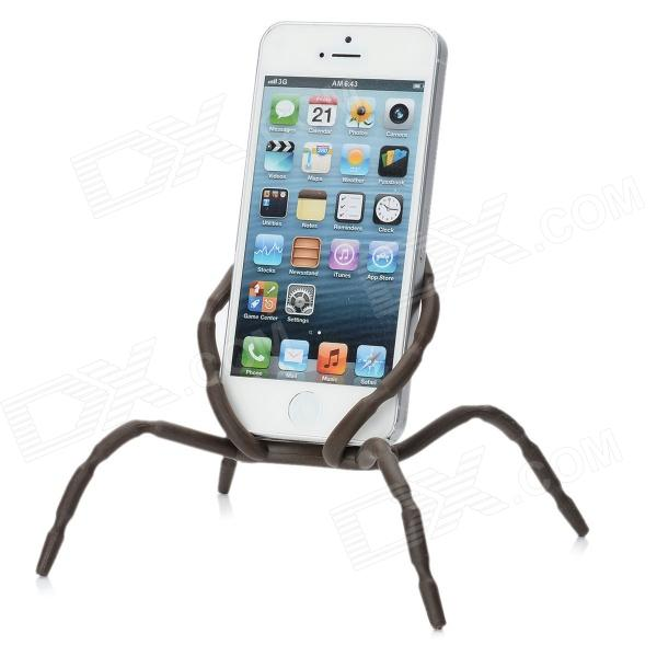 Spider style plastic changeable car mount cell phone holder chocolate 4 90