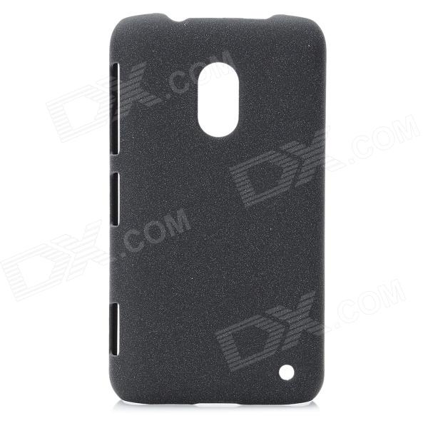 Ultra-Thin Protective Matte Plastic Back Case for Nokia Lumia 620 - Black protective matte frosted screen protector film guard for nokia lumia 900 transparent