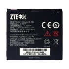 YiZhanTong Replacement 3.7V 1650mAh Li-ion Battery for ZTE N880E / V889D / N855D - White