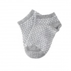 52002 Comfortable Cotton + Polyester Baby's Socks - Grey