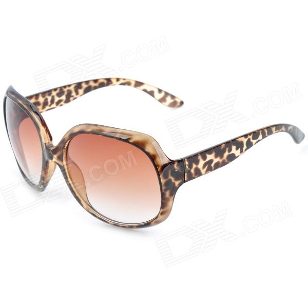 CY8150 Fashion Women's Resin UV400 Protection Sunglasses - Leopard Pattern Frame cy8150 fashion women s resin uv400 protection sunglasses leopard pattern frame