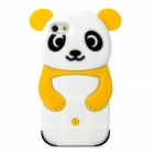 Cute 3D Panda Style Protective Silicone Case for Iphone 5 - Yellow