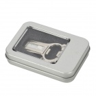JY-005 Style Foot USB 2.0 Flash Drive Bottle Opener - Plata (16GB)