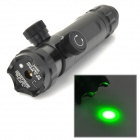 KJS-b1 Adjustable Universal Green Laser Gun Aiming Sight Bore Sight w/ 2-Mount - Black (1 x CR123A)