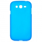 Stylish Protective Frosted TPU Back Case for Samsung i9082 - Blue