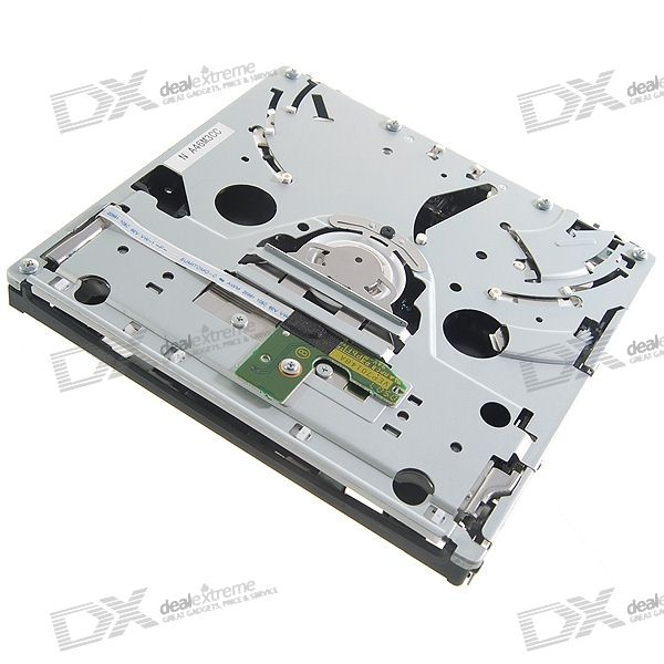 Repair Part Replacement DVD-ROM Optical Laser Drive Module (D2B Mechanism) for Wii slim portable usb 2 0 dvd rom cd rom external optical drive black