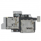 Replacement SIM Card Holder for Samsung i9260 - Black + Silver
