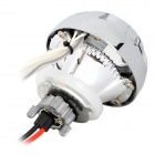 "Universal 2.5 ""Motorcycle 35W 2800lm HID Xenon Faros Yellow w / White Angel Eye"