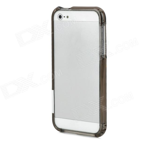 Stylish Protective Bumper Frame for Iphone 5 - Translucent Grey