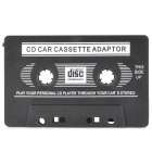 3.5mm Jack Car MP3 CD Cassette Converter Adapter - Black (80cm)