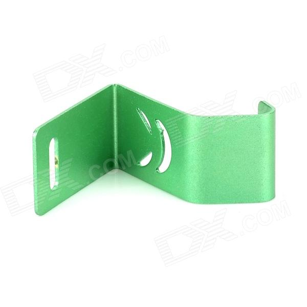 Mini Aluminum Alloy Desktop Cell Phone Holder - Green