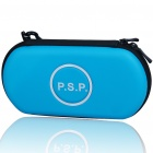 Hard Protective Carrying Case with Carabiner Clip for PSP 3000 (Blue)