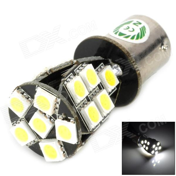 TZY 64002 1156 3.8W 280lm 21-SMD 5050 LED White Light Car Tail / Steering / Corner Lamp - Silver