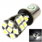TZY 64002 1156 3.8W 280lm 21-SMD 5050 LED White Light Car Tail / Lenkung / Corner Lamp - Silber