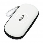 Hard Protective Carrying Case with Carabiner Clip for PSP 3000 (White)