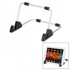 LS10 Universal Windshield and Backrest Mount Holder for Ipad / Samsung Tablet PC - Black + Silver
