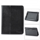"Protective PU Leather Case for Onda V812 8"" Tablet - Black"