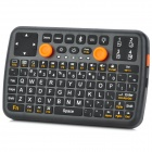 Mini Bluetooth v3.0 92-Key Gaming Keyboard w/ Joystick Mouse - Black