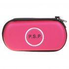 Hard Protective Carrying Case with Carabiner Clip for PSP 3000 (Pink)