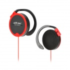 Ditmo DM-4000 Stereo Ear Hook MP3 / Handy / Audio Player Ohrhörer w / 3,5 mm Klinke - Red + Black