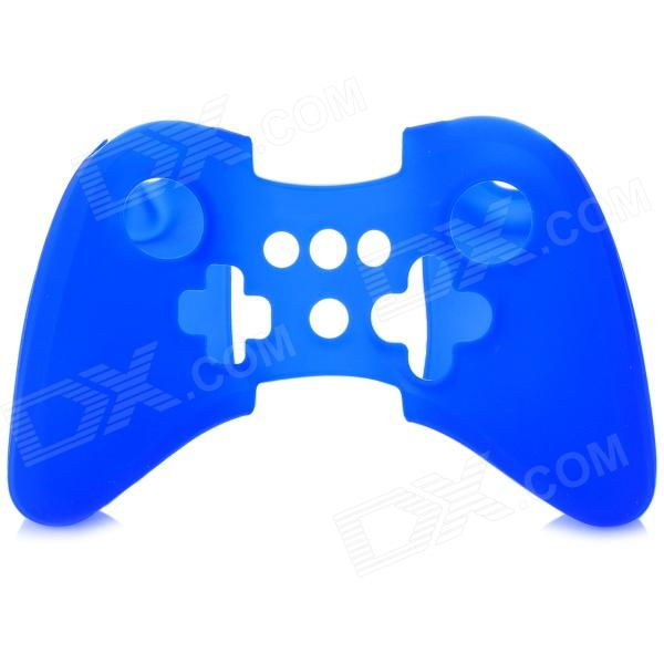 Protective Silicone Case for Wii U Controller - Blue projectdesign protective hard carrying pouch case for wii nunchuck controller red