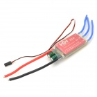Thunder-60A 60A ESC w/ BEC Switching Mode for Brushless Motors on R/C Helicopters - Red