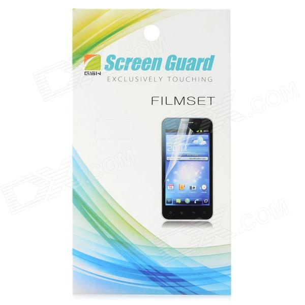 Protective Matte PET Screen Film Guard for Samsung S7500 - Transparent