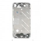 Repair Parts Replacement Middle Plate Frame for Iphone 4 - Black + Silver