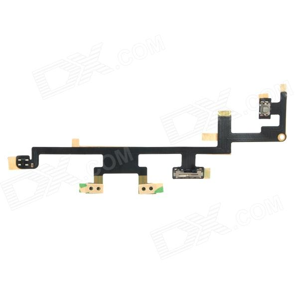 Replacement Power Button Flex Cable for Ipad MINI - Black + Silver панель для планшета ipad ic for ipad mini