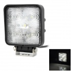XLLED815W 15W 500lm 5-SMD LED White Car Off-Road Working / Nebelscheinwerfer / Snow Plow Lampe - Schwarz