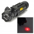 BQD-H1 Multi-Rail 5mW Red Laser Gun Aiming Sight Bore Sight for 20mm Rail - Black (1 x CR123A)