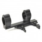 SPR-1.5 Aluminum Alloy 30mm Sight Mount Holder for 21mm Rail Gun - Black